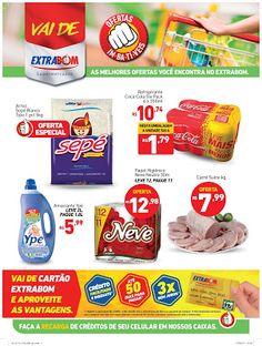Encartes de Supermercados: Encarte Extrabom - válido até 26/08