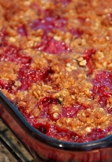 Plum Cobbler and Plum Crisp made the crisp - didn't have enough plums so supplemented with 3 cups blueberries. Delicious!