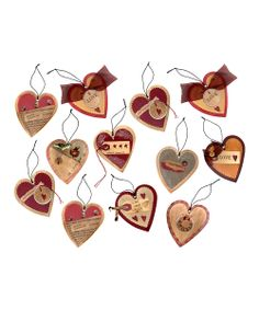 Heart Ornament Set | Daily deals for moms, babies and kids
