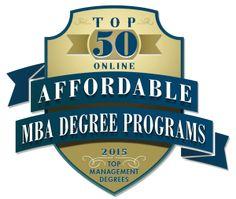 Affordable Online MBA Programs