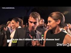 Theo James// Funny & Sexy Moments - YouTube