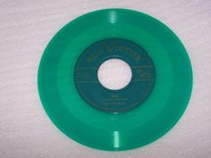 Sons-Of-The-Pioneers-Green-Vinyl-45-Record-Trees-b-w-The-Timber-Trail-RCA