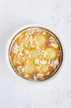 Tarte amandine aux poires - recette facile