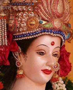 Lord Durga, Ganesh Lord, Durga Maa, Lord Vishnu, Lord Shiva, Ganesha, Navratri Wallpaper, Maa Durga Image, Radha Kishan