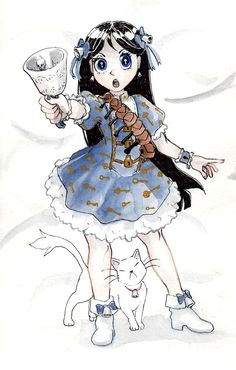 North of the Wall — paxetromana:   Magical girl based on Garth Nix'...