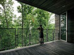 Casa Sustentable en el Árbol / Mithun The Sustainability Treehouse / Mithun – Plataforma Arquitectura - guarda corpo