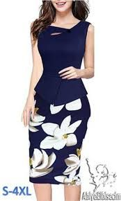 Nice-forever Autumn Print Floral Patchwork Button Casual Dress Business Three Quarter Zip Back Bodycon Summer Office Dress Office Dresses, Dresses For Work, Summer Dresses, Autumn Dresses, Elegant Chic, Elegant Woman, Bodycon Dress Formal, Short Dresses, Formal Dresses