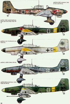 Ju-87 colour schemes
