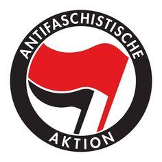 Antifaschistische Aktion Aufkleber 0,50 Euro