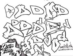 Phase 1 Graffiti Style Letter D How To Draw Letters Gallery