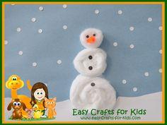 43 Best Winter Crafts For Kids Images On Pinterest