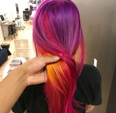 Feelin' the vibe? Join the tribe! There's no limit to what you can create, like this vibrant look from @ammoncarverstudio.