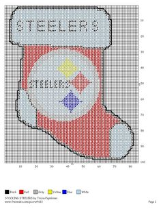 Steelers Stocking