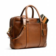 @Coach, Inc. BLEECKER COMMUTER IN LEATHER
