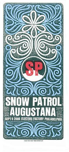 Snow Patrol, Augustana- Electric Factory, Philadelphia 2006
