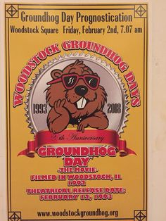 Heretic, Rebel, a Thing to Flout: Groundhog Day De ja vu—Wake Up! Murfin Verse. Since I am writing and posting this in the wee small hours of the morning before Woodstock Willie gets yanked from his slumber at 7:07 this morning or the original Punxsutawney Phil back east in Pennsylvania will see their shadows or not.  It hardly matters.  It will be the coldest February 2 since the McHenry County town began celebrating annually in honor of the cult classic Bill Murray movie shot there