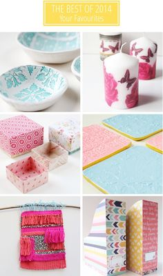 Do you currently have cabin fever? Try out these favorite DIY gift projects from 2014 to keep you occupied.