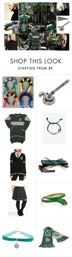 """For My Sly Slytherin Friend"" by olivegreenisme ❤ liked on Polyvore featuring Warner Bros. and Torrid"