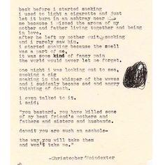 Christopher Poindexter.