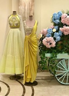 Western Dresses, Indian Dresses, Indian Outfits, Saree Draping Styles, Saree Styles, Lehenga Choli Wedding, Bridal Dresses, Girls Dresses, Sharara Designs
