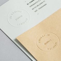 More clean and simple brand ID created by Tsto for El Camino.