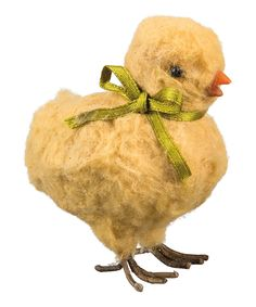Look at this Yellow Mrs. Chick Figurine on #zulily today!