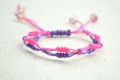 Step-By-Step Friendship Bracelet Instructions-Easy Friendship Bracelet with Snake Knot – Pandahall
