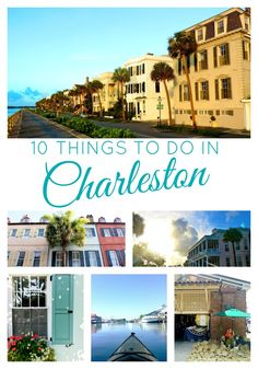 Charleston, South Carolina. It's a bit like stepping back in time in the best way possible. The architecture. The beaches. …