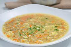 Diese Haferflockensuppe wird mit Karotte verfeinert und ist eine gesunde Vorspei… This oatmeal soup is refined with carrot and is a healthy appetizer. Soup Appetizers, Healthy Appetizers, Healthy Dinner Recipes, Soup Recipes, Vegetarian Recipes, Simple Appetizers, Authentic Mexican Recipes, Mexican Salsa Recipes, Oatmeal Soup Recipe