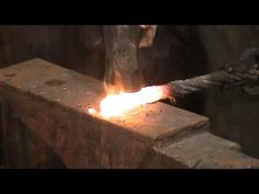 How To forge Weld Cable Damascus