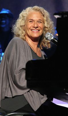 Carole King  -  Singer/Songwriter    I could listen to this album all day!