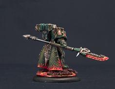 Forgefather Vulkan He'stan, Master of Salamanders