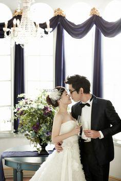 Korea Pre-Wedding Photoshoot - WeddingRitz.com » Like snowing - Korea Pre-wedding with Grace