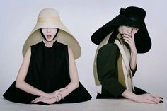 Can't get enough of those Balenciaga visors.