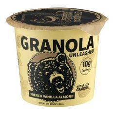 Kodiak Cakes Granola Unleashed, French Vanilla Almond, 2.15 Oz (Pack of 12)