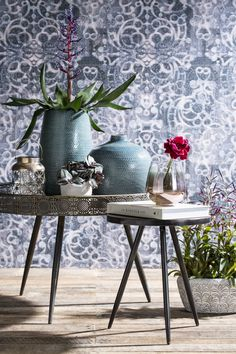 Photoshoot Mica Decorations with wallpaper collection Neo Royal by Marcel Wanders - BN