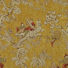 Lee Jofa SERENADE GOLD Fabric