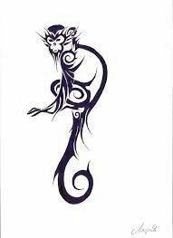 Monkey tattoo #3