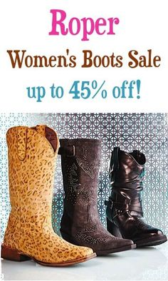 Roper Boots for Women Sale: up to 45% off!
