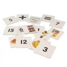 Double-Sided Photo Magnetic Numbers - Have fun learning with these Double-Sided Photo Magnetic Numbers. This set of 20 double-sided magnets feature a real photograph on one side and the number of the objects on the other side.  - $26.99