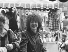 Blast from the past. Shopping at Surry Hills markets at Shannon Reserve in about 1980.