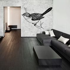 Bring the perks of nature inside with this adorable wall sticker