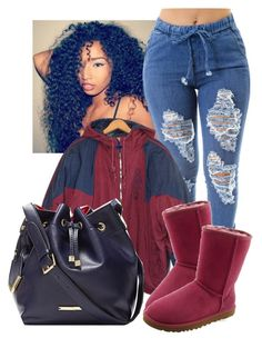 """Untitled #277"" by laiixo ❤ liked on Polyvore featuring adidas, The Limited and UGG Australia"