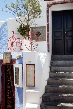 Red Bicycle Restaurant, Oia Santorini