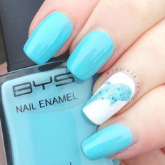 Diving Dolphin Nail Decals by colourmenails on Etsy, $6.00