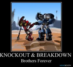 Transformers Prime - Knock Out & Breakdown: Brothers Forever✶