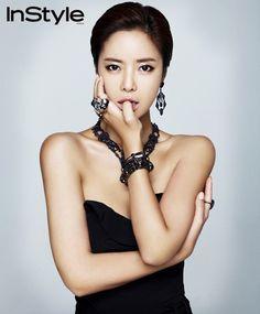 Hwang Jung Eum InStyle Korea Magazine September 2011