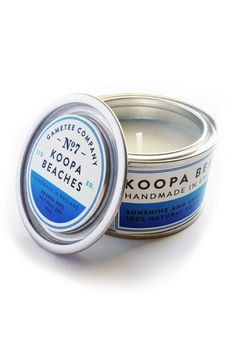 GAMETEE — Koopa Beaches - Gaming Candle
