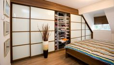 A customer testimonial sees Sliderobes finding a perfect storage solution for an awkward bedroom