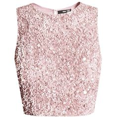 LACE&BEADS PICASSO PINK SEQUIN TOP | LACE&BEADS TOPS (£55) ❤ liked on Polyvore featuring tops, crop top, shirts, pink, shirt top, lacy tops, pink lace shirt, cut-out crop tops and pink lace top